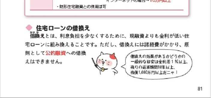 『ユーキャンのFP 3級 きほんテキスト』のユーニャンがポイントを説明