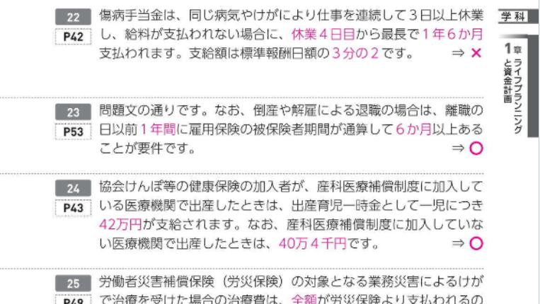 日本経済新聞出版『うかる! FP3級 速攻問題集』